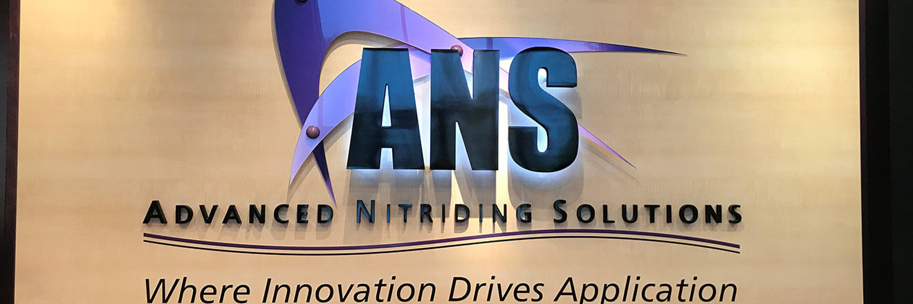Sign in Lobby: Advanced Nitriding Solutions
